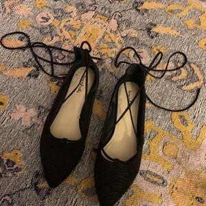 Size 13 women's lace up flats